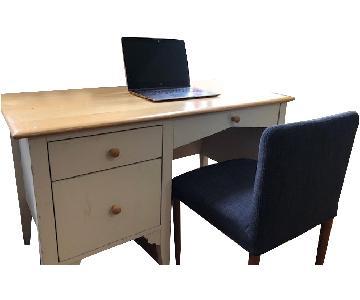 Three-Drawer Desk