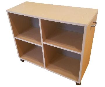 Muji Pulpboard Bookcase on Castor