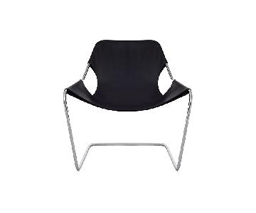 Paulistano Paulo Mendes Armchair in Leather