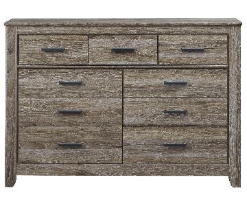 Ashley Warm Grey Dresser