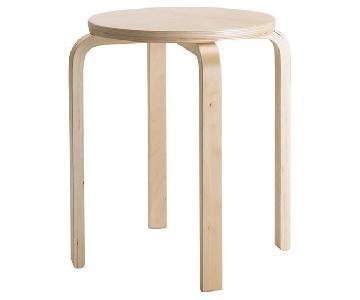 Ikea Wooden Stools