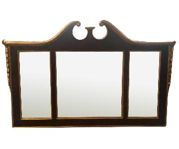 Ethan Allen Three Pane Mirror