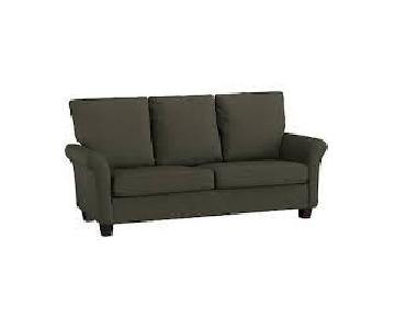 Handy Living 3 Seater Sofa in Basil Green