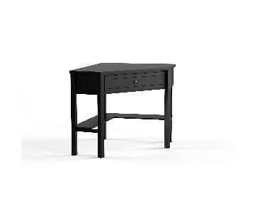 Porch and Den Lincoln Corner Computer Desk w/ Chair