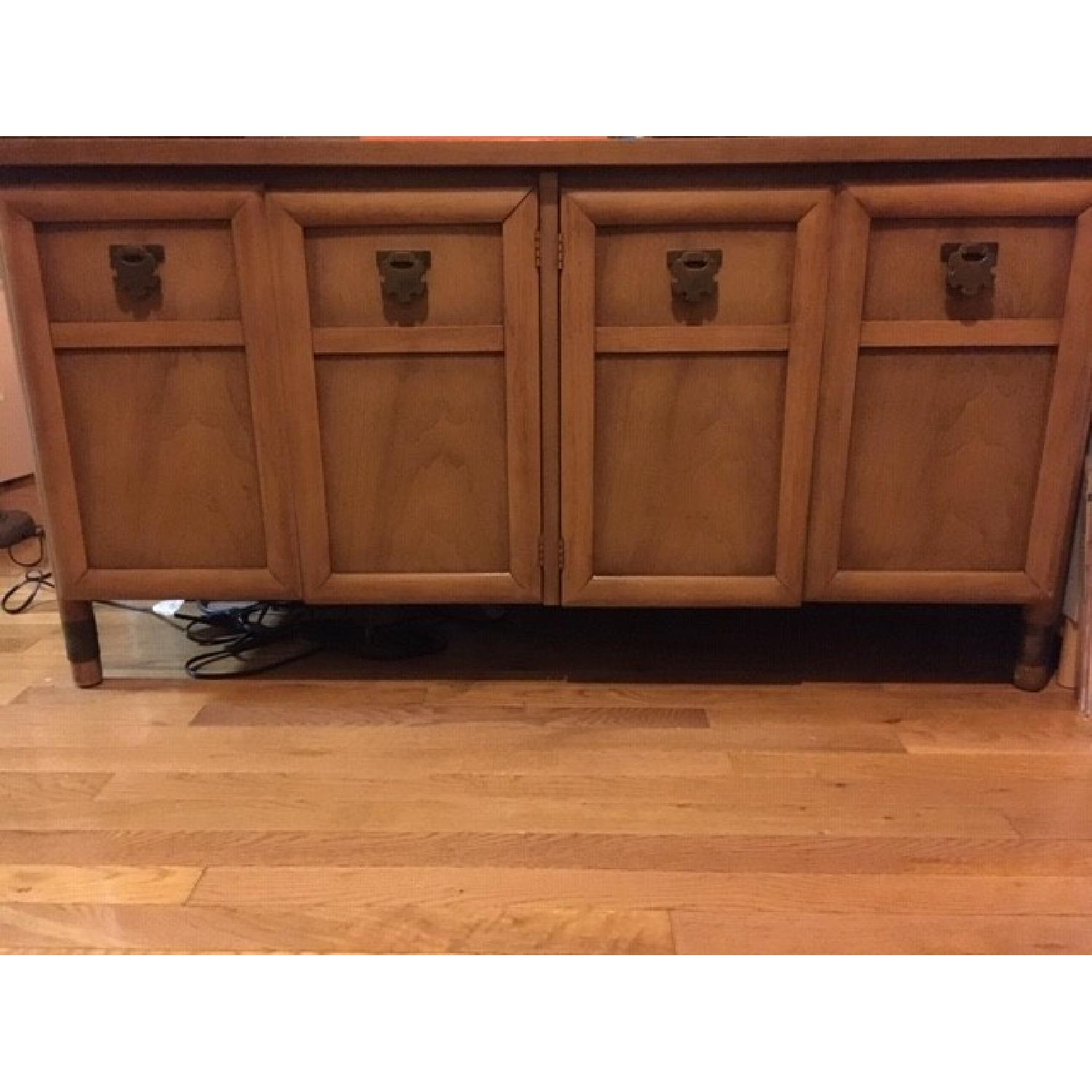 Wood Credenza/Entertainment Center-5