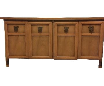 Wood Credenza/Entertainment Center