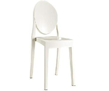 Modway White Casper Dining Side Chair