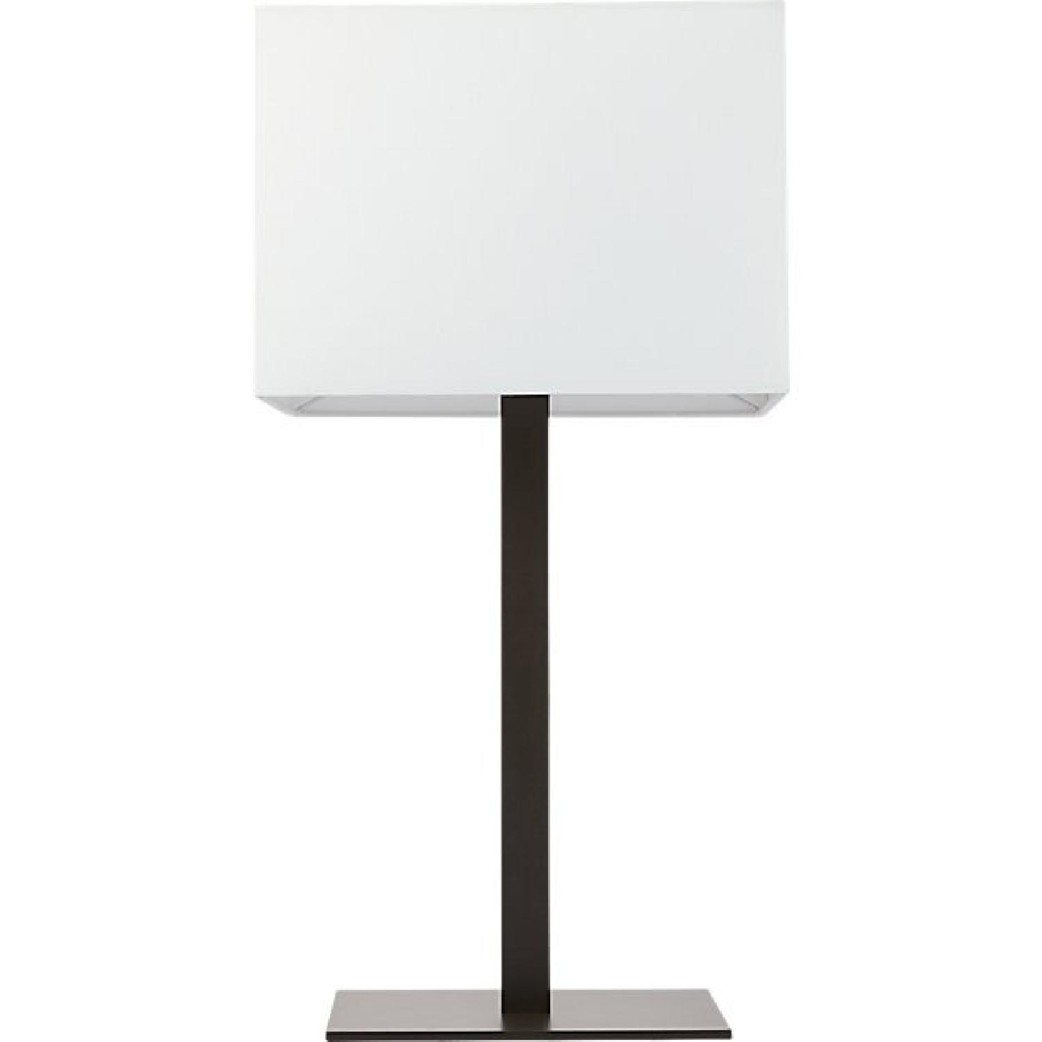 CB2 Bedside Table Lamps
