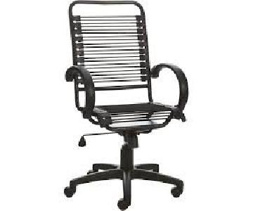 CB2 Black Office Chair