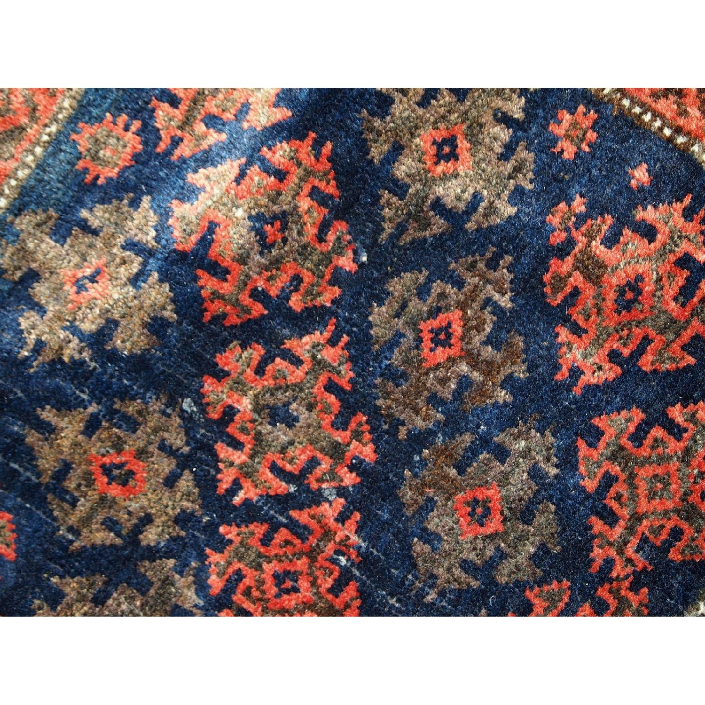 Antique Handmade Afghan Baluch Salt Bag Rug-1