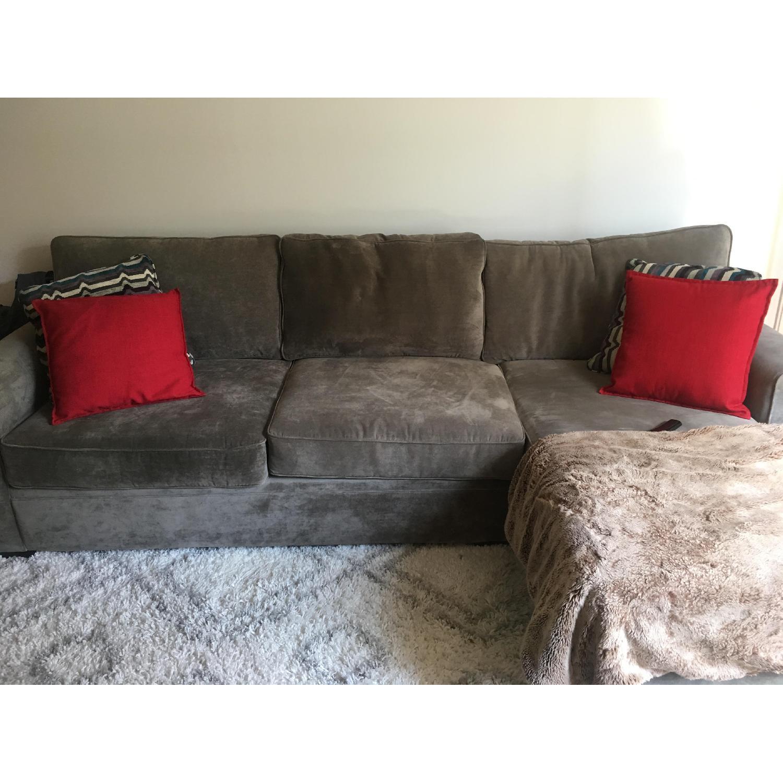 Raymour & Flanagan Artemis II Full Sleeper Sectional Sofa - image-2