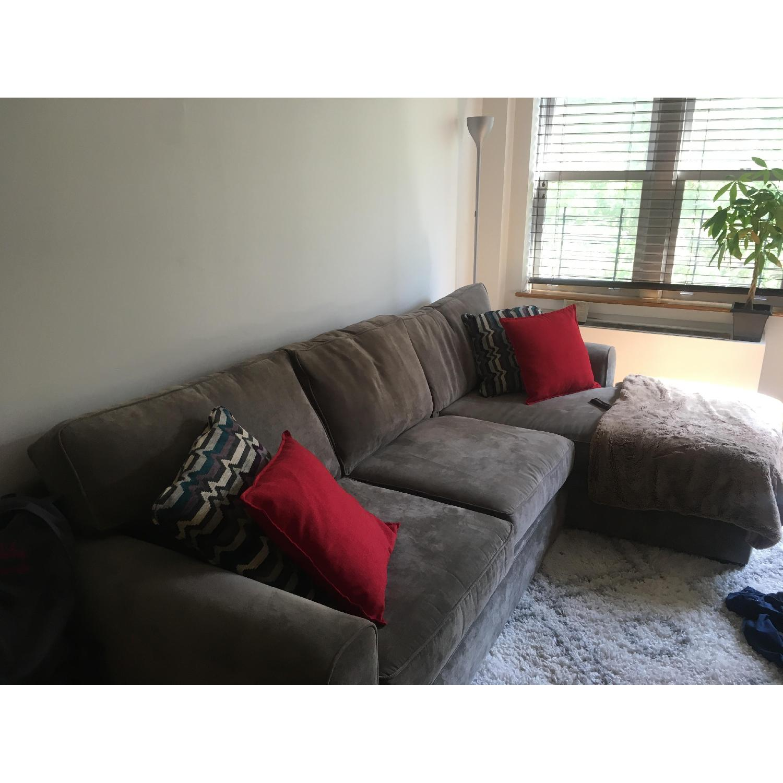 Raymour & Flanagan Artemis II Full Sleeper Sectional Sofa - image-3