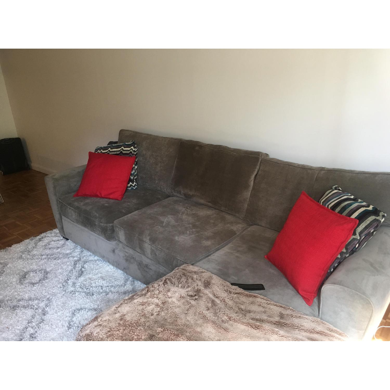 Raymour & Flanagan Artemis II Full Sleeper Sectional Sofa - image-4