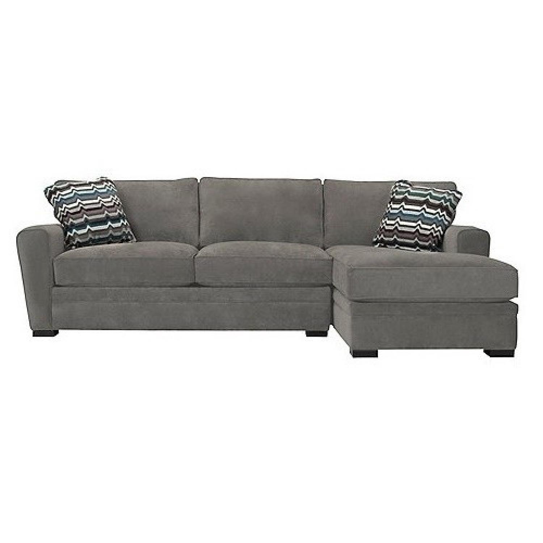 Raymour & Flanagan Artemis II Full Sleeper Sectional Sofa - image-0