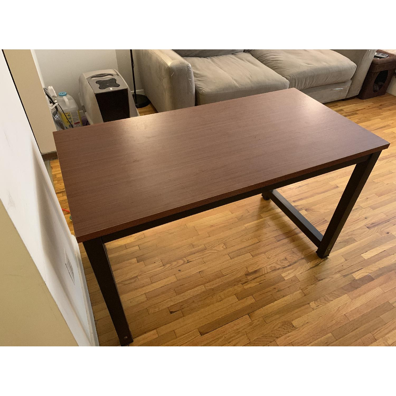 Metal & Wood Finish Desk