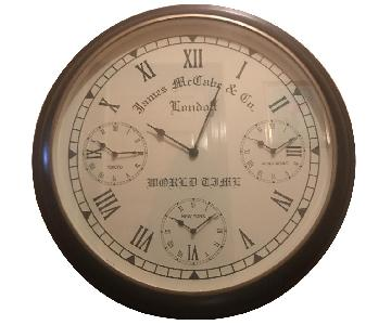 James McCabe Wall Clock