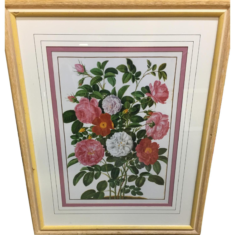 Ethan Allen Flower Paintings