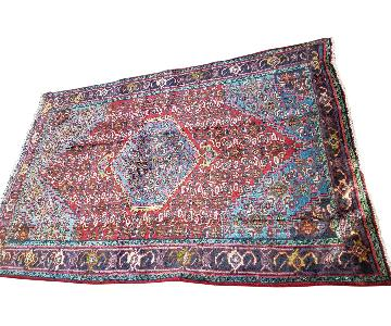Antique Handmade Persian Hamadan Rug