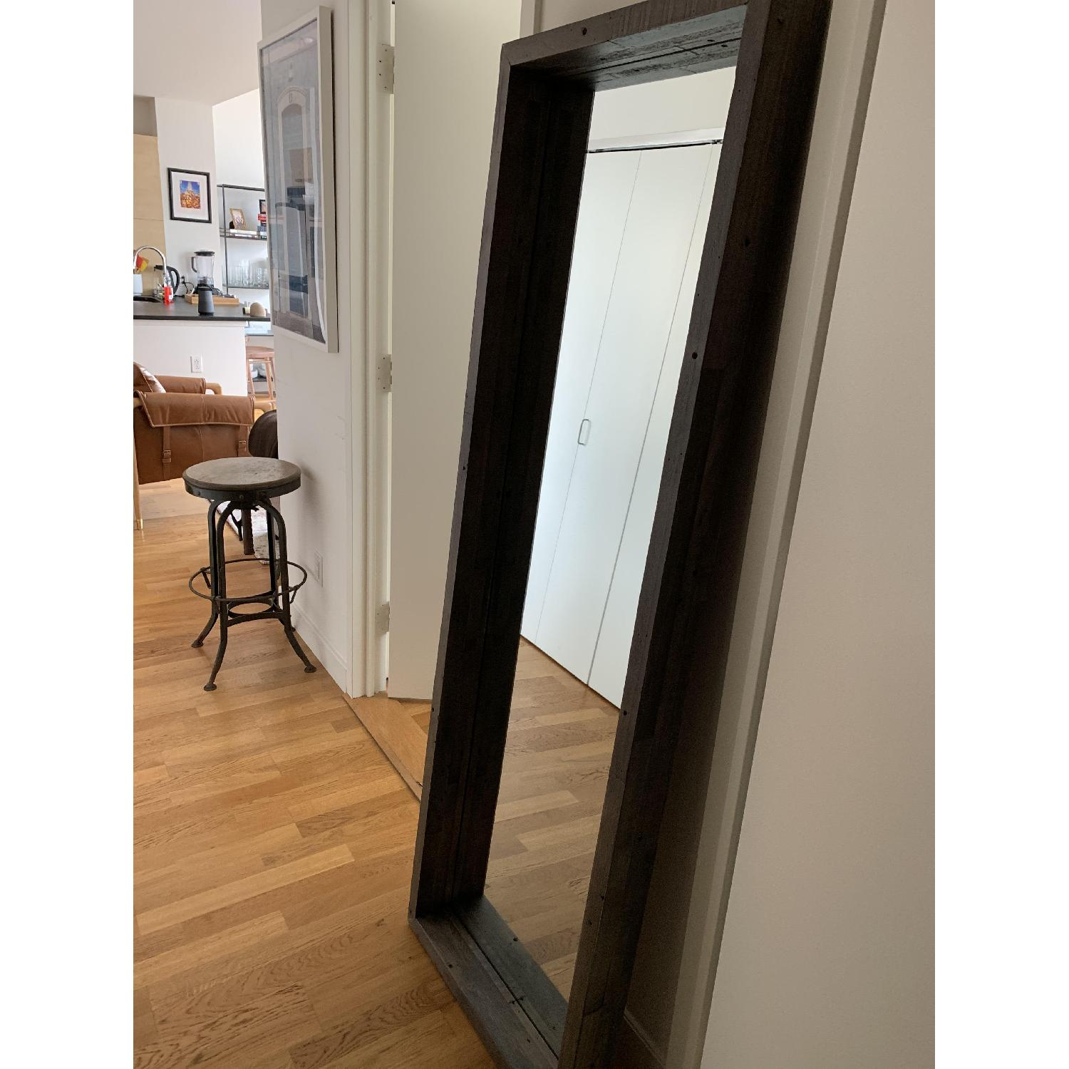 West Elm Reclaimed Wood Floor Mirror Aptdeco
