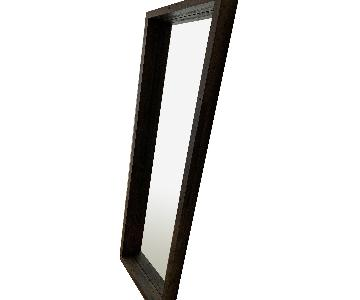 West Elm Reclaimed Wood Floor Mirror