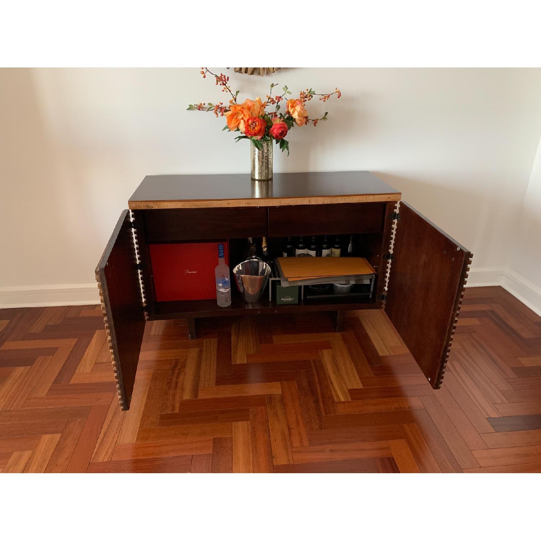 Crate & Barrel Paloma Wood Credenza