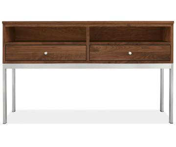 Room & Board Wood & Steel Console Table