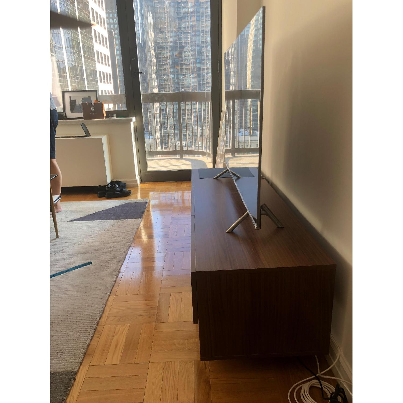 Nexera Rustik 3 Drawers TV Stand in Walnut