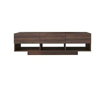 Nexera Rustik 3 Drawers TV Stand in Walnut