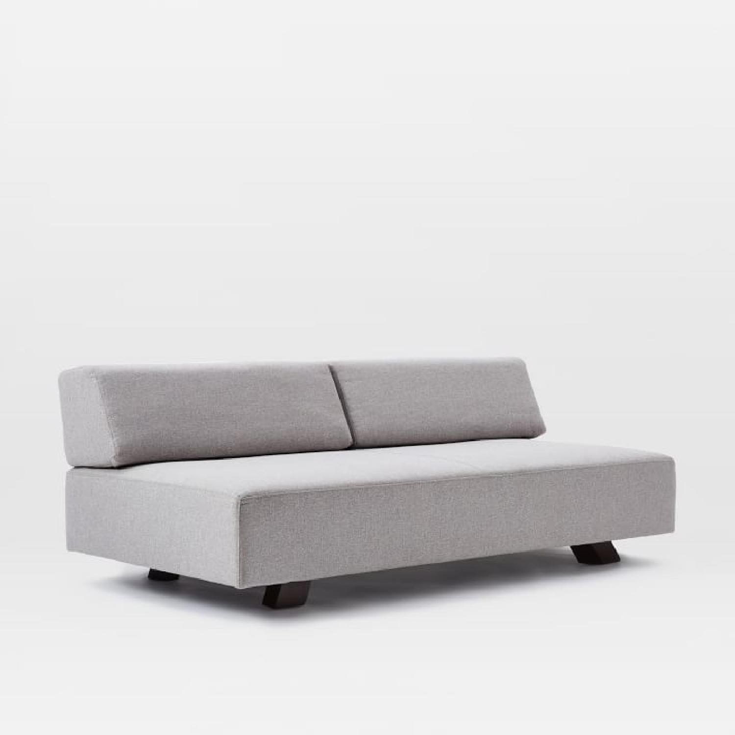 West Elm Tillary Sofa in Feather Gray