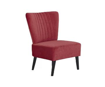 Mercury Row Red Accent Chair