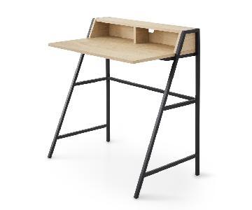 Conrad Wood Desk w/ Hutch