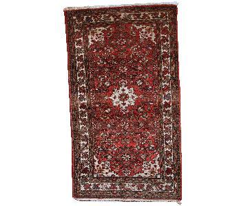 Vintage Handmade Persian Hamadan Rug