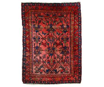 Vintage Handmade Persian Malayer Rug