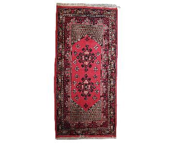Vintage Handmade Algerian Berber Rug