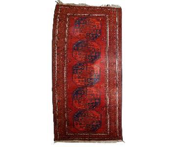 Vintage Handmade Afghan Ersari Rug
