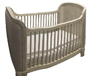Restoration Hardware Belle Upholstered Crib
