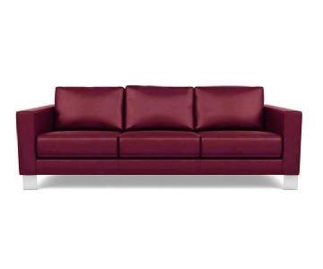 American Leather Alessandro Three-Seater Sofa