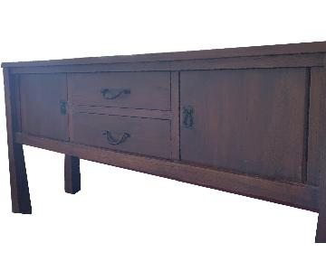 The Wooden Duck Teak Wood Sideboard