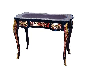 Boulle Writing Desk Reproduction