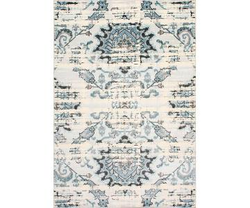 nuLOOM Vintage Adileh Area Rug in Cream/Grey