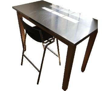 Modern Wood Desk & Chair