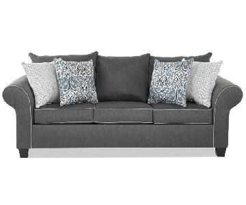 Bob's Ashton Sofa & Storage Ottoman