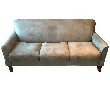 3-Seater Sofa in Microfiber Sage
