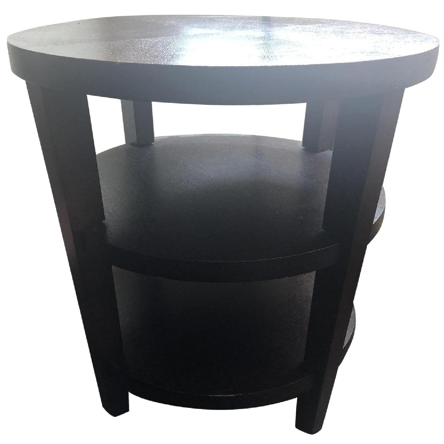 Pottery Barn Dark Brown Wooden Side/Entryway Table