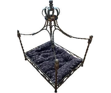 Metal Canopy Pet Bed
