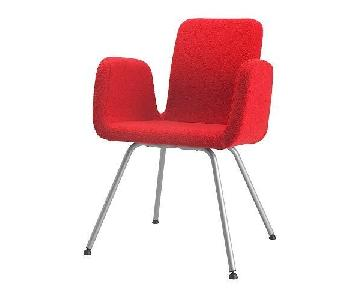 Ikea Red Accent Chair