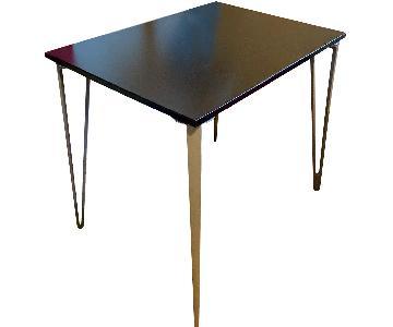 Ikea Custom Wood & Metal Desk/Table