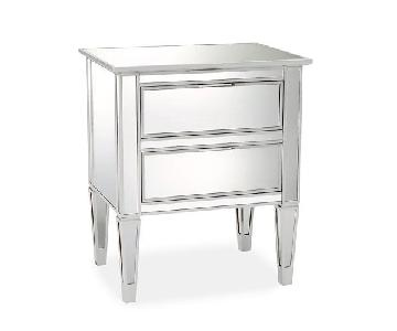 Pottery Barn Park Mirrored Nightstand