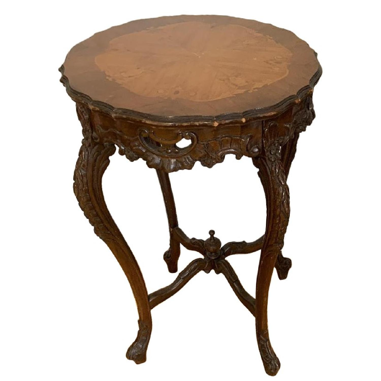 Antique Handcrafted Occasional Side Tables