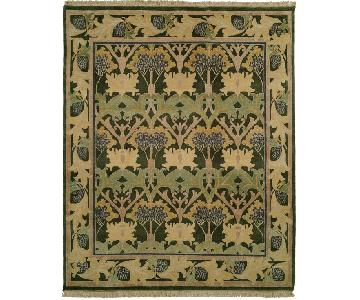Nature's Loom Arts & Crafts Collection Meadow Rug